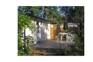 2 stugor i Visby, Villa Skogshem