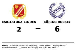 Linus Ageborg och Tobias Sjökvist målskyttar när Eskilstuna Linden föll