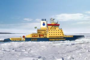 Så ska den se ut – Sveriges nya isbrytare