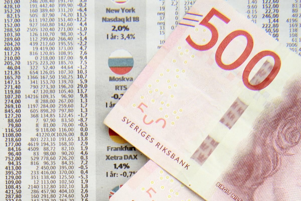 Svagt nedåt på Stockholmsbörsen