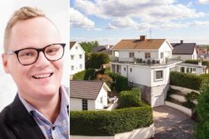 """Unikt hus lockar stockholmare – stans högst belägna: """"Det tar längre tid att sälja de lite dyrare husen"""""""