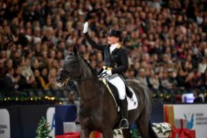 Världsstjärnan Werth klar för hästshowen