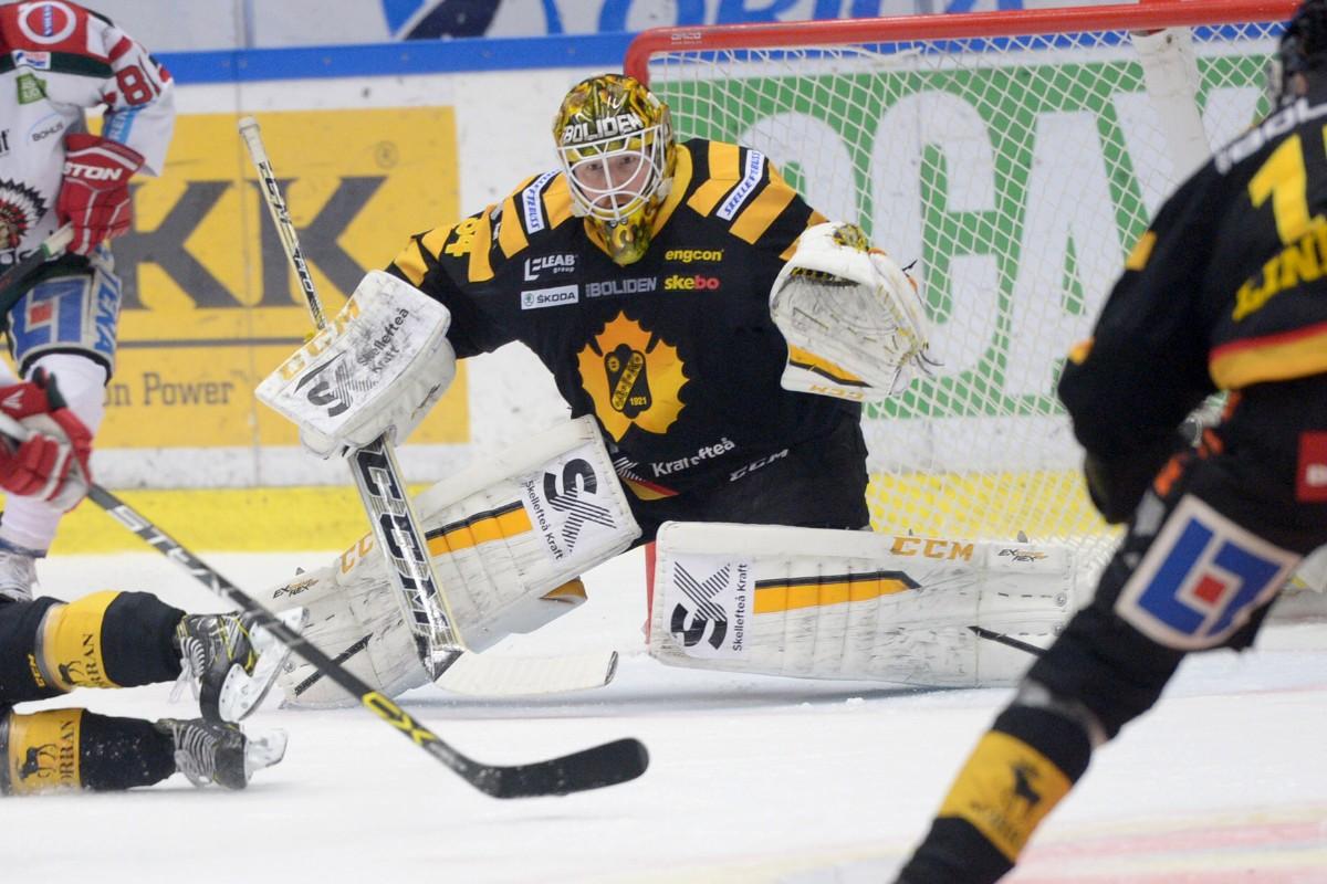 Förre AIK-målvakten byter klubb i hockeyallsvenskan