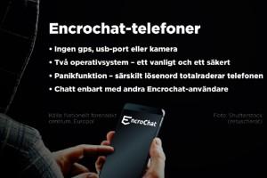 """Polis om Encrochat: """"Något man drömt om"""""""