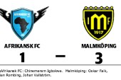 Malmköping vann borta mot Afrikansk FC