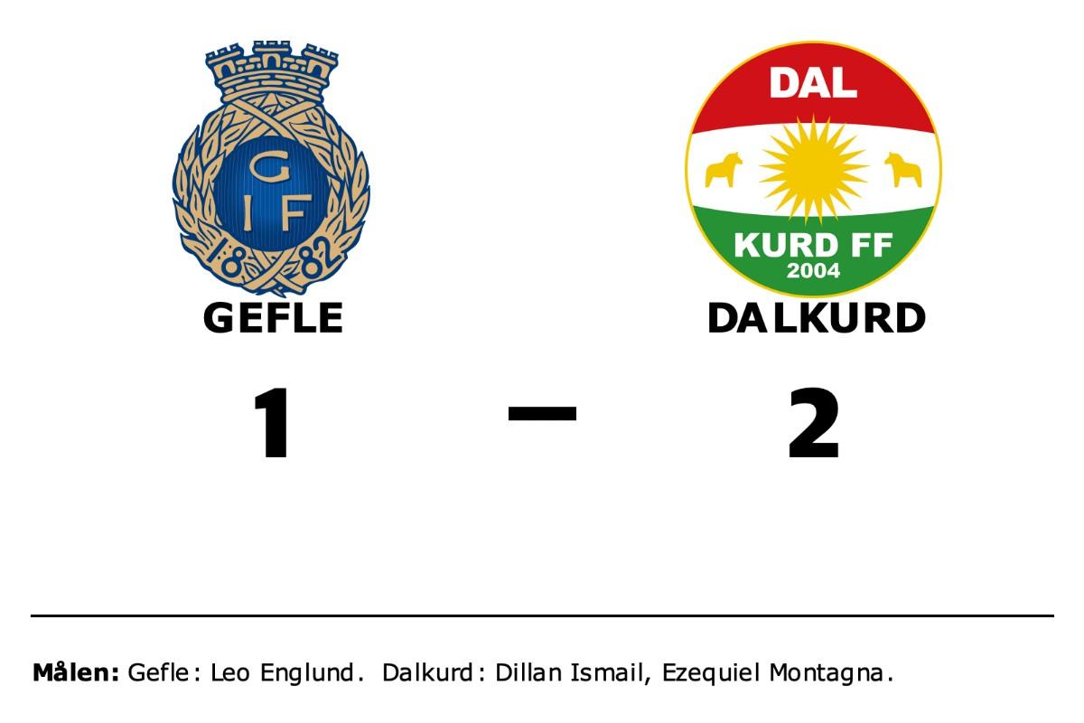 Dillan Ismail och Ezequiel Montagna målskyttar när Dalkurd vände