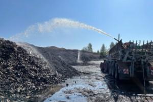 """Efter branden på Solbacken – Insatsledaren: """"Bedömer inte rökutvecklingen som farlig men förstår att det kan finnas oro"""""""