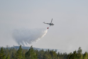 """Stor risk för skogsbränder i helgen – räddningstjänsten: """"Vi är på tårna"""""""