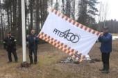 """Yttersta hembygdsförening hissade jubileumsflaggan: """"Det var uppskattat"""""""