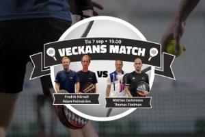 TV: Se mötet mellan Hörnell/Holmström och Zachrisson/Flodman