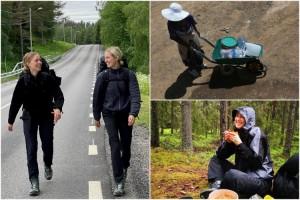 """Ebba, 23, räknar med smärta: """"Tacksamheten kommer motivera oss"""""""