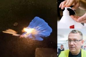 Handspriten – nya brandfaran bland juleljusen