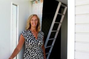 """Christina hyr ut gårdshuset: """"Systemet är enkelt"""""""