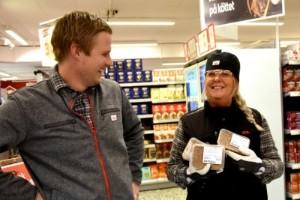 Handlaren från Kiruna tog över butik på Höga kusten