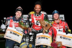 Överlägsen Lindbäck vann Smedernas tävling