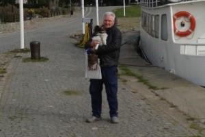 Svenne firar 75-årsdagen med Piggelin