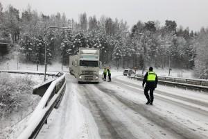 Lastbilschaufförer blev av med körkorten
