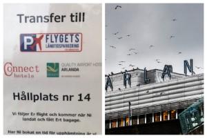 Oenighet kring transfertrafik till Arlanda