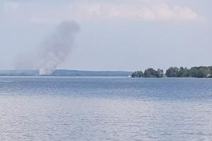 Brand på åker var kontrollerad eldning