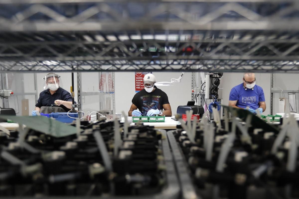 Mer fart inom USA:s industrisektor