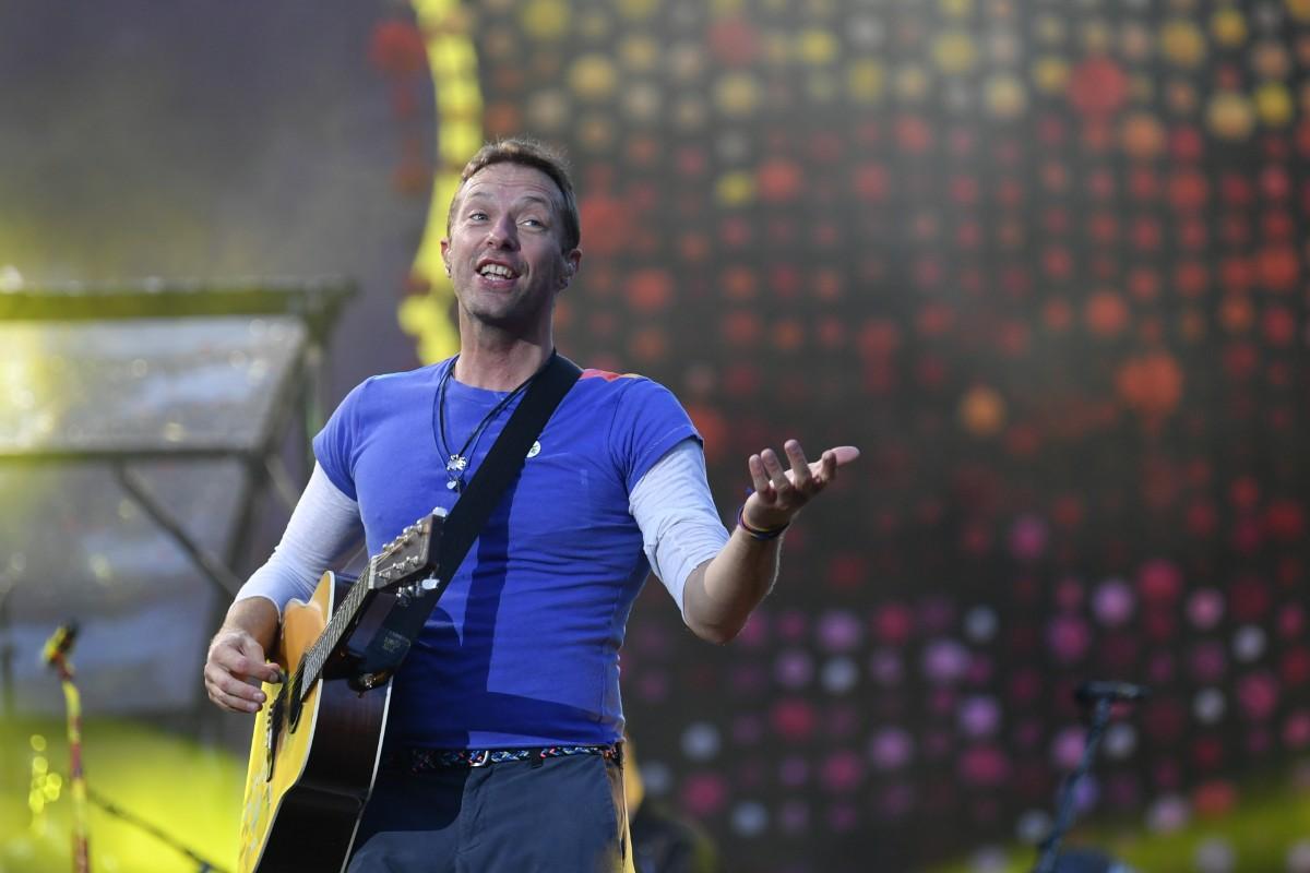 Coldplay skickar nya låten ut i rymden
