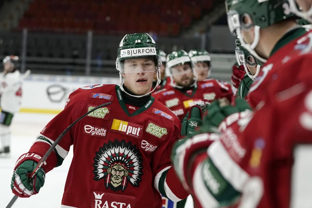 Hockeytalangen lämnar Frölunda – klar för AHL