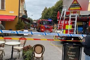 Kock blev hjälte när restaurangbranden stoppades