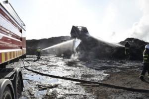 """Företagaren efter branden på Solbacken – produktionen har stått still: """"Det känns inte kul"""""""