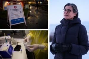 Smittskyddsläkaren: Kan vara början på tredje vågen i Östergötland