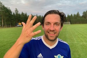 Alexander Pettersson stekhet – sjumålsskytt mot Bureå