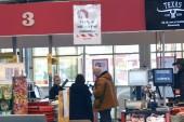 Trängsel i livsmedelsbutiker