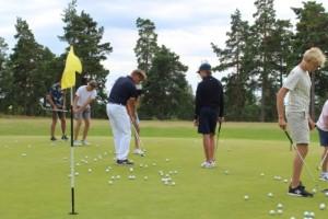 Golfläger med proffscoaching för juniorerna