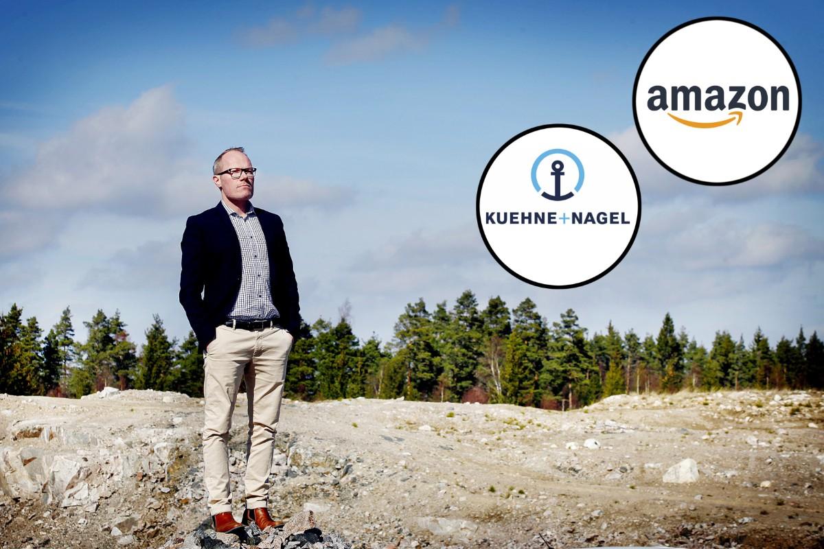 """Logistik-vd:n om Amazon: """"En riktig prestigeetablering"""""""