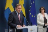 Stefan Löfven statsminister och S-ledare tillsammans med MP: s språkrör och statsråd Isabella Lövin.