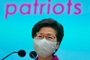 Hongkongledare hyllar nya valsystemet