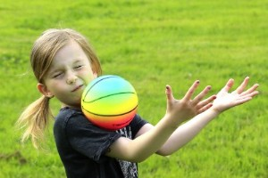 Konsten att fånga en boll
