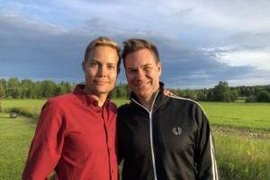 """TV4-paret om kärleken till Norrbotten: """"Fantastiskt"""""""