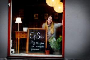 Från New York till Eskilstuna – Johanna öppnar café