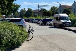Parkering försvinner – ger plats för nytt tågspår
