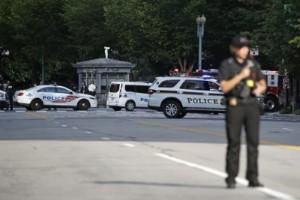 Person skjuten utanför Vita huset