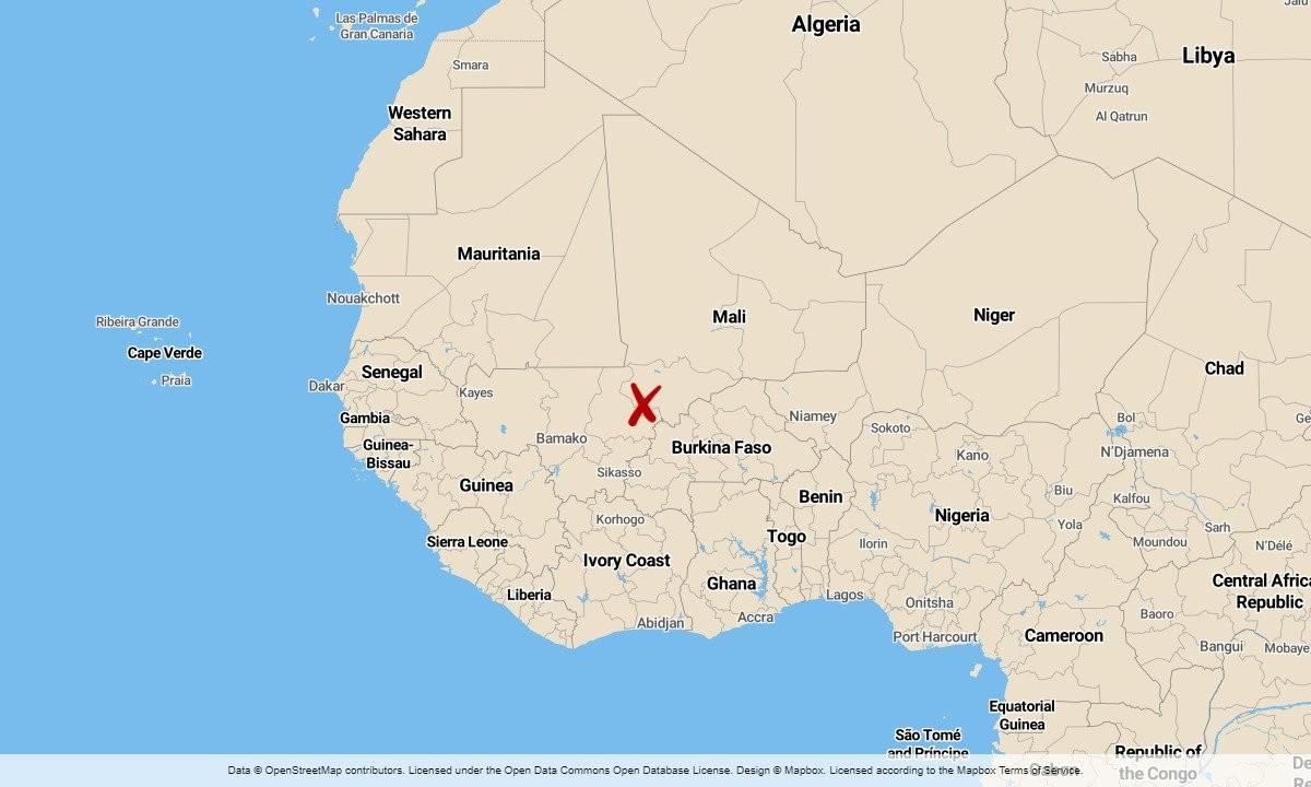 Minst 22 döda i bussolycka i Mali