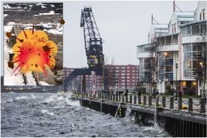 """Om dammen brister: Så evakueras Luleå • """"E4:an enkelriktas i södergående riktning"""""""