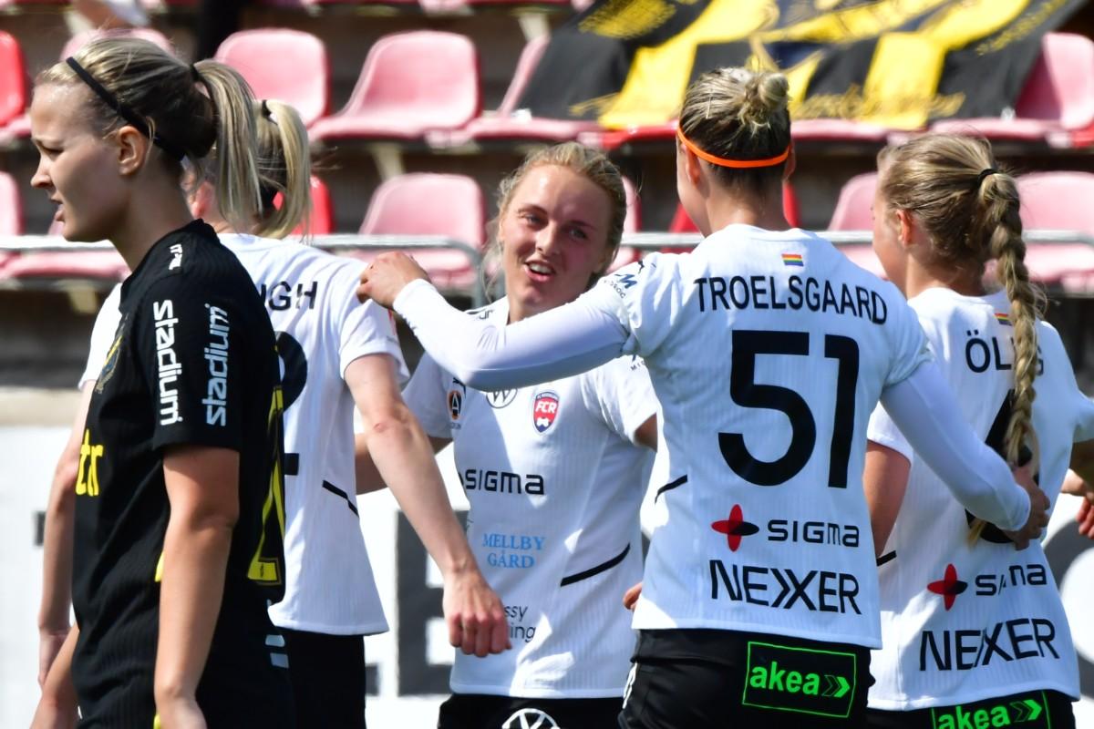 7–0 i Rosengårds sjunde raka seger