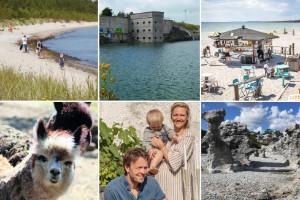 10 fantastiska besöksmål på Gotland i sommar