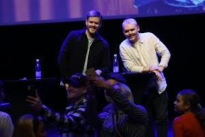 """Storpublik och stormad scen i Luleå – då vill Leif och Billy göra scenshow • """"Det här är värt allt jobb"""""""