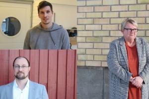 Tre rektorer Fem skolor Många tankar