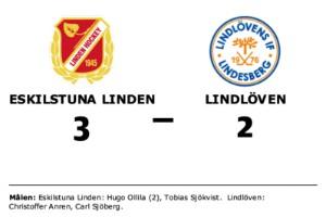 Eskilstuna Linden avgjorde mot Lindlöven i tredje perioden