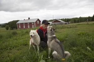 Med stor passion för hundspannsåkning