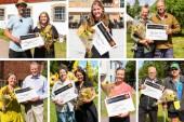 Pengaregn över Vadstena Sparbanks stipendiater