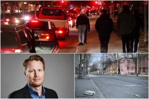 """Efter kaoset på Sundsgatan: Kommunen ska se över cruisingen • """"Viktigt att alla vet vad som gäller"""""""